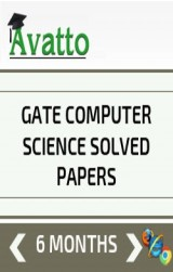 GATE Computer Science Solved Papers Online Test 6 by Avatto