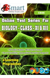 Smart Online Exam CBSE Biology Class Xi & Xii English - Online Test