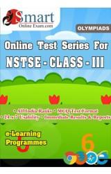 Smart Online Exam NSTSE Class - Iii English - Online Test