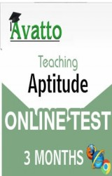Teaching Aptitude Online Test 3 by Avatto