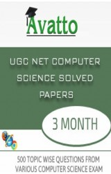 UGC NET Computer Science Solved Papers Online Test 3 by Avatto