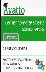 UGC NET Computer Science Solved Papers Online Test 6 by Avatto