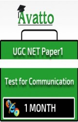 UGC NET Paper1 Test for Communication 1 by Avatto