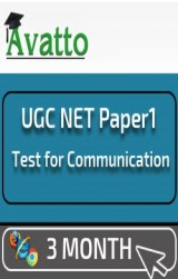 UGC NET Paper1 Test for Communication 3 by Avatto