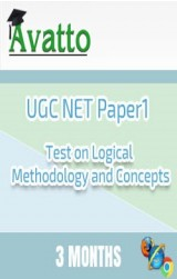 UGC NET Paper1 Test on Logical Methodology and Concepts 3 by Avatto