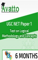 UGC NET Paper1 Test on Logical Methodology and Concepts 6 by Avatto