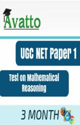 UGC NET Paper1 Test on Mathematical Reasoning 3 by Avatto