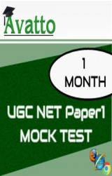 UGC NET Paper1 Mock Test 1 by Avatto