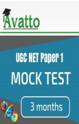 UGC NET Paper1 Mock Test 3 by Avatto