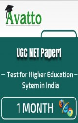 UGC NET Paper1 Previous Year Papers 1 by Avatto - Online Test
