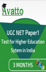 UGC NET Paper1 Previous Year Papers 3 by Avatto - Online Test