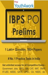 IBPS PO Prelims Best Online Practice Tests Prep (Duration - 1 Month)