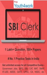 SBI Clerk Best Online Practice Tests Prep (Duration - 1 Month)