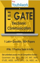 GATE Electronics and Communication Practice Tests Prep (Duration - 1 Month)