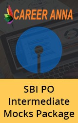 SBI PO Intermediate Mocks Package
