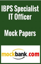 IBPS Specialist IT Officer (Scale -I) - Series of 5 By Mockbank in English