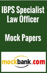 IBPS Specialist Law Officer (Scale -I) - Series of 5 By Mockbank in English