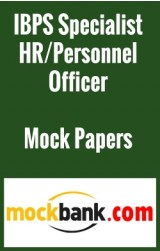 IBPS Specialist HR/Personnel Officer (Scale -I) By Mockbank in English