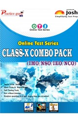 Topic Wise tests For  Class 10 - Combo Pack (IMO / NSO / IEO / NCO) - English