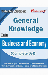 Selected MCQs on GK  - Business and Economy (Complete Set)