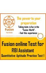 RBI Assistant Exam Quantitative Aptitude Practice Test 1 by Fusion Test Series - Online Test