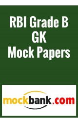 RBI Grade B GK Papers (Series of 5) By Mockbank in English