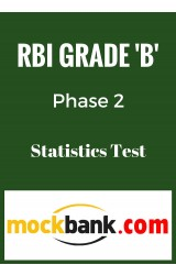 RBI Grade B Phase 2 - Statistics Mock Test By Mockbank in English - Online Test