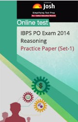IBPS PO Exam 2014: Reasoning: Practice Paper (Set-1) - Online Test