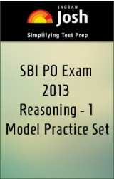 SBI PO Exam 2013 Reasoning - 1 Model Practice Set - Online Test