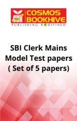 SBI Clerk Mains Model Test papers ( Set of 5 papers)