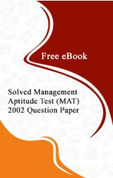 Solved Management Aptitude Test (MAT) 2002 Question Paper Free eBook