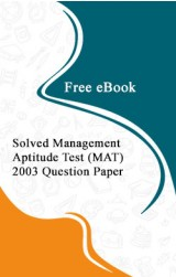 Solved Management Aptitude Test (MAT) 2003 Question Paper Free eBook