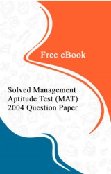 Solved Management Aptitude Test (MAT) 2004 Question Paper Free eBook