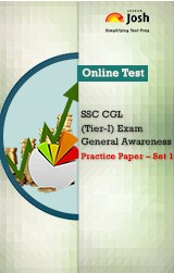 SSC CGL (Tier-I) Exam: General Awareness: Practice Paper (Set-1) Online Test