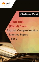 SSC CGL (Tier-I) Exam: English Comprehension: Practice Paper (Set-2) Online Test