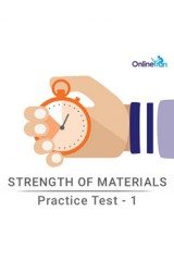 Strength of Materials - Practice Test 1