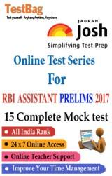 RBI Assistant Exam Preliminary Mock Test