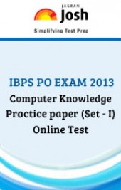 IBPS PO Exam 2013: Computer Knowledge: Practice Paper (Set-1)-Online Test