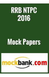 RRB NTPC 2016 Mock Test Series- 2 Tests by Mockbank in English