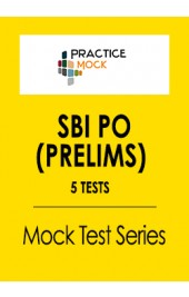 SBI PO Prelims- 5 Tests