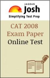 CAT 2008 Exam Paper