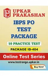 IBPS PO Test Package 10 Practice Test