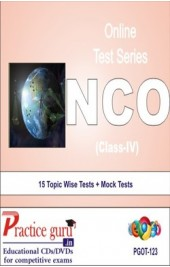 Practice Guru NCO Class 4 , 15 Topic Wise Tests Mock Tests English Online Test