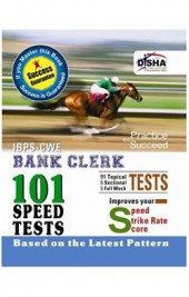 IBPS CWE Bank Clerk 101 Speed Tests with Success Guarantee