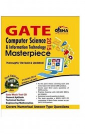 GATE Computer Science & Information Technology Masterpiece 2015 with 4 Mock Test CD 2nd edition