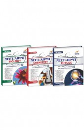 Crack NEET/ AIPMT Physics/ Chemistry/ Biology (set of 3 books) - 4th Edition