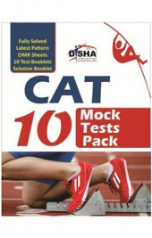 CAT 10 MOCK TEST PACK (Test Booklets/ OMR sheets/ Solution Booklet)