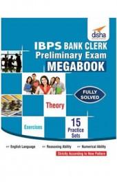 IBPS Bank Clerk Preliminary Exam MegaBook - (Guide + 15 Practice Sets)