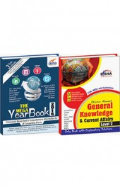Objective General Knowledge & Current Affairs (Yearbook + 3100 MCQs) Level 2