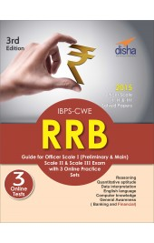 IBPS-CWE RRB Guide for Officer Scale 1 (Preliminary & Mains), 2 & 3 Exam with 3 Online Practice Sets 3rd Edition